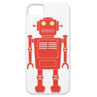 Rojo del robot iPhone 5 cárcasa