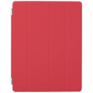 Rojo del Rojo-Rubí de los Rojo-Hibiscos de Cubierta De iPad