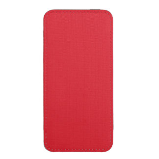 Rojo del Rojo-Rubí de los Rojo-Hibiscos de Funda Acolchada Para iPhone