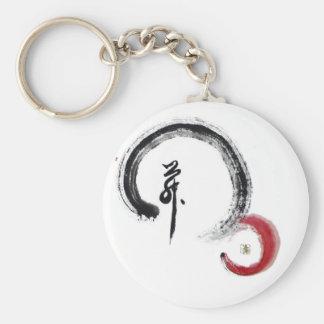 Rojo del zen - Enso Llaveros