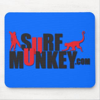 Rojo - diseño de la cartelera #2 de Munkey de la r Tapete De Raton