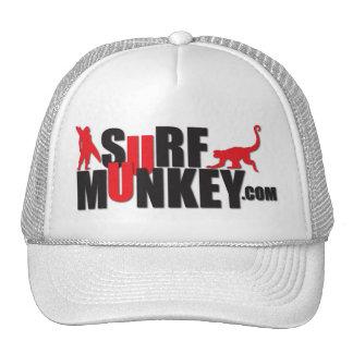 Rojo - diseño de la cartelera de Munkey de la resa Gorra