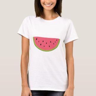 Rojo dulce de la salud de la fruta de la sandía de playera