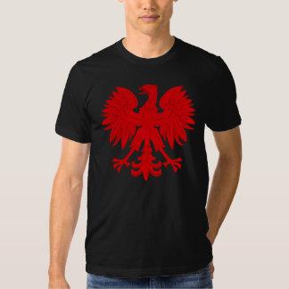 Rojo Eagle polaco Playera
