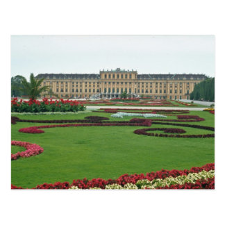 Rojo el castillo de los Habsburgo, Viena de Shonbr Tarjetas Postales