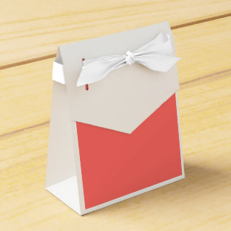Rojo en colores pastel cajas para regalos