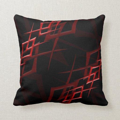 """Rojo en la almohada negra de la """"espina"""""""