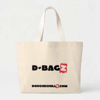 Rojo enorme de D-Bagz DoucheChillz Bolsa Tela Grande