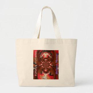 Rojo especial de Haloween de los regalos de Hakuna Bolsa De Tela Grande