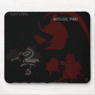 ¡Rojo espiral de SANOVA Mousepad- - recójalos todo Alfombrilla De Raton