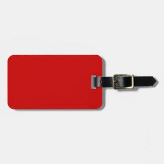 Rojo Etiquetas Para Maletas