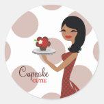rojo étnico de 311-Cupcake Cutie el | Pegatina