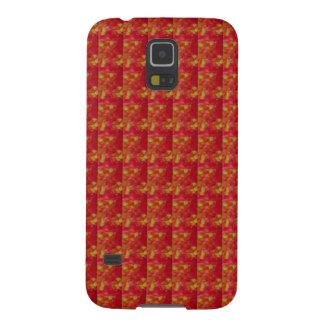 Rojo EXÓTICO tomado de la flor: Arte NAVIN JOSHI Carcasa Galaxy S5