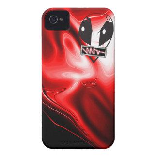 Rojo extranjero iPhone 4 Case-Mate cobertura