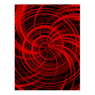 Rojo feliz, negro (c) postales