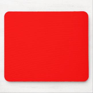 Rojo FF0000 Alfombrilla De Raton