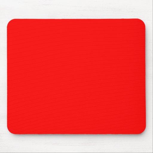Rojo FF0000 Tapete De Ratón