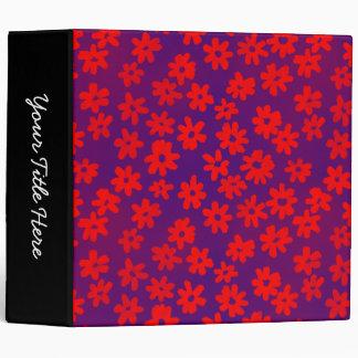 """Rojo floral y azul del estilo del batik (los 2in) carpeta 2"""""""