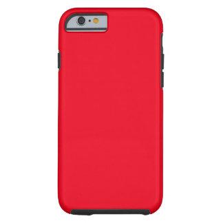 Rojo Funda De iPhone 6 Tough