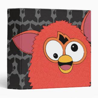 """Rojo Furby de Phoenix Carpeta 1 1/2"""""""