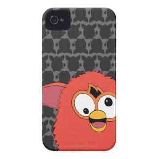 Rojo Furby de Phoenix iPhone 4 Case-Mate Cobertura
