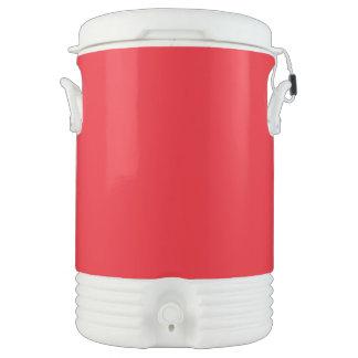 Rojo Enfriador De Bebida Igloo