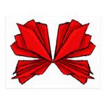 Rojo II de la mariposa Tarjetas Postales