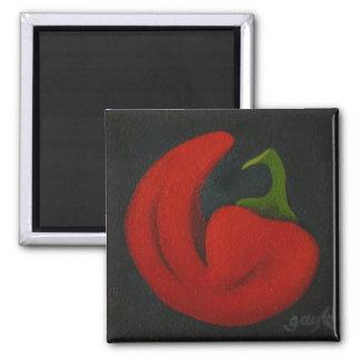 Rojo II Refrigerator Magnet
