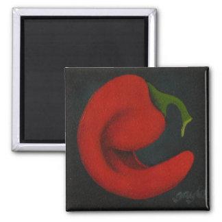 Rojo III Refrigerator Magnets