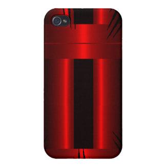Rojo iPhone 4 Carcasas
