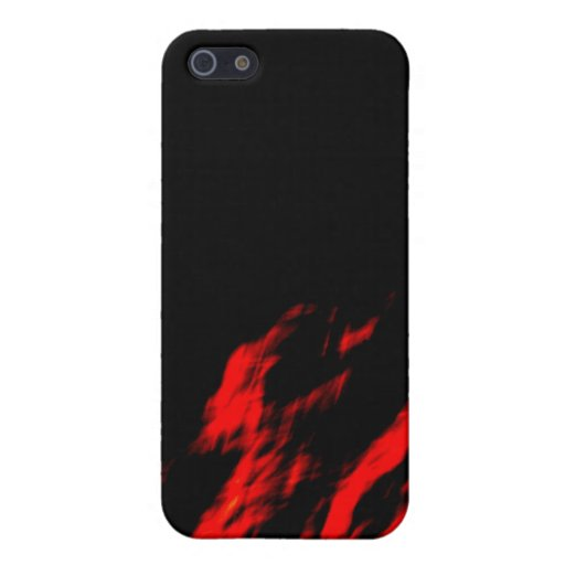 Rojo iPhone 5 Protector