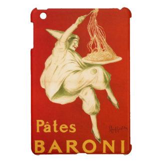 Rojo italiano del anuncio de las pastas de Leonett