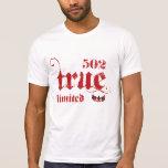 """ROJO limitado Z de encargo """" del proyecto de 502TR Camiseta"""