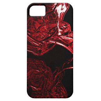 Rojo líquido impresionante iPhone 5 Case-Mate fundas