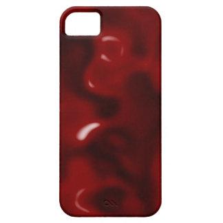 Rojo líquido iPhone 5 coberturas