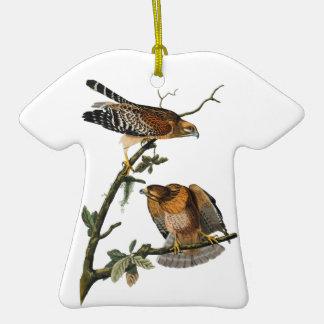 Rojo-llevó a hombros el halcón ornamentos de reyes