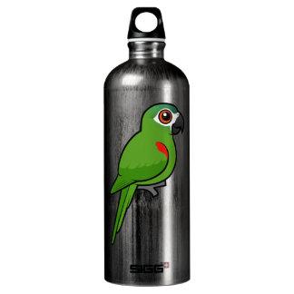 Rojo-llevó a hombros el Macaw