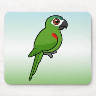 Rojo-llevó a hombros el Macaw Alfombrilla De Ratones
