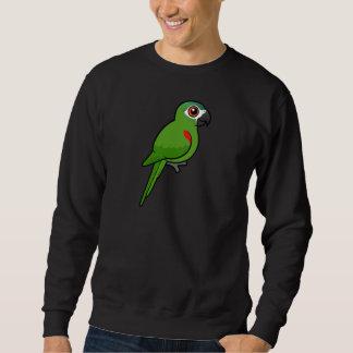 Rojo-llevó a hombros el Macaw Pulóvers Sudaderas