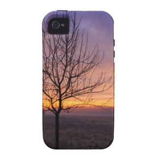 Rojo mañana Case-Mate iPhone 4 carcasa