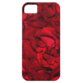 Rojo masivo funda para iPhone 5 barely there