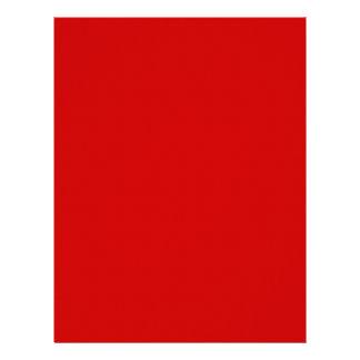 Rojo Membrete A Diseño