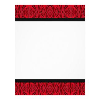 rojo negro tarjetas publicitarias