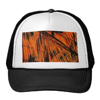 rojo negro linear gorras