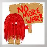 Rojo no más de guerra impresiones