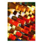 Rojo o blanco invitación 12,7 x 17,8 cm
