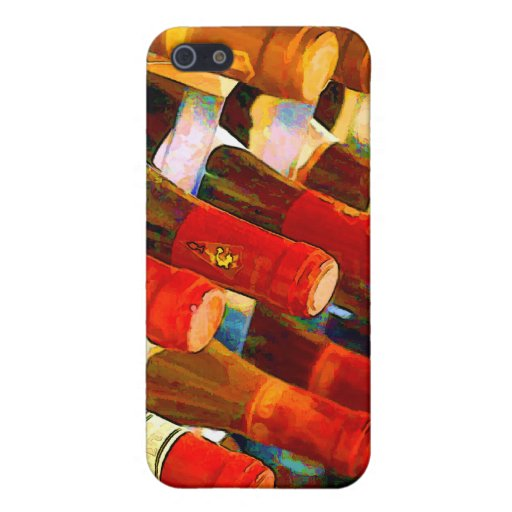 Rojo o blanco iPhone 5 funda