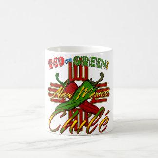¿Rojo o verde? Taza Clásica