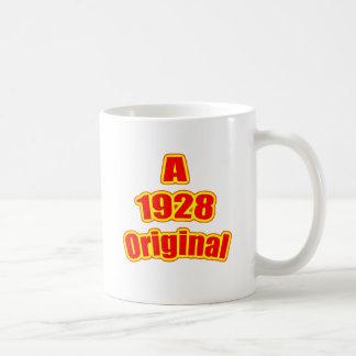 Rojo original 1928 taza
