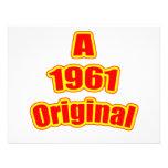 Rojo original 1961 anuncio personalizado